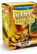 Dragonshield Dragonshield 100 Box Sleeves Classic Gold