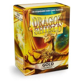 Dragonshield Dragonshield 100 Box Sleeves Classic Gold