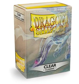 Dragonshield Dragonshield 100 Box Sleeves Classic Clear
