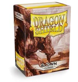 Dragonshield Dragonshield 100 Box Sleeves Classic Brown
