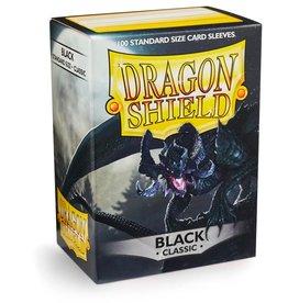 Dragonshield Dragonshield 100 Box Sleeves Classic Black