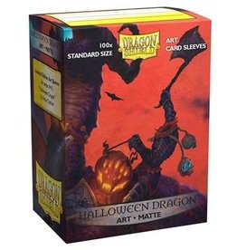 Dragonshield Dragonshield 100 Box Sleeves Art Matte Halloween Dragon