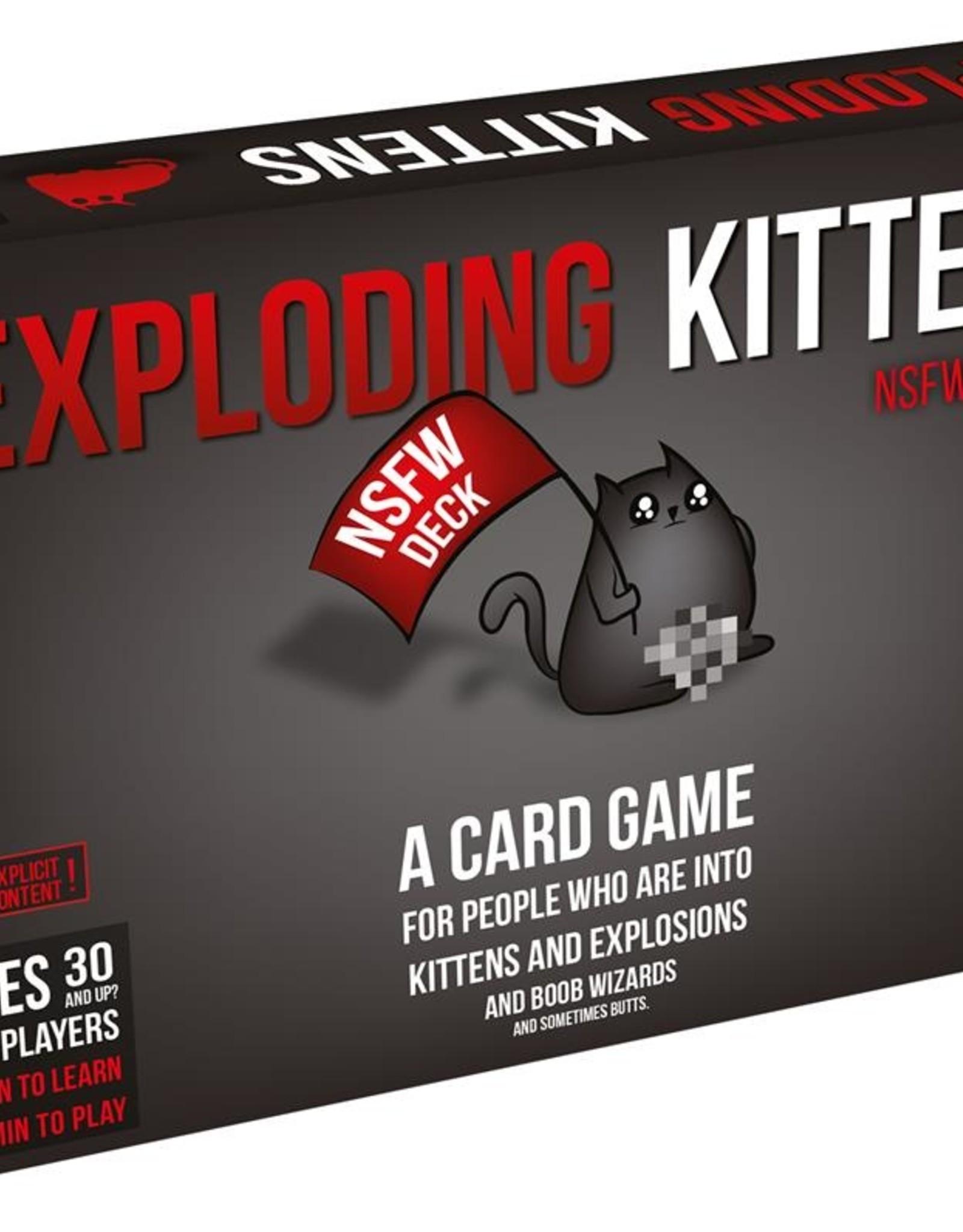 Exploding Kittens Exploding Kittens NSFW 18+ (EN)