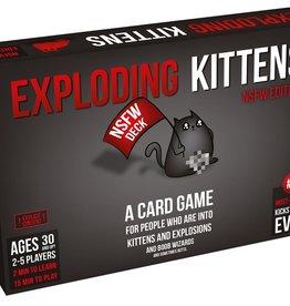 Exploding Kittens Exploding Kittens NSFW 18+, Engelstalig