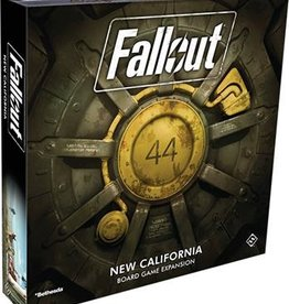 Fantasy Flight Games Fallout the Board Game, New California Expansion