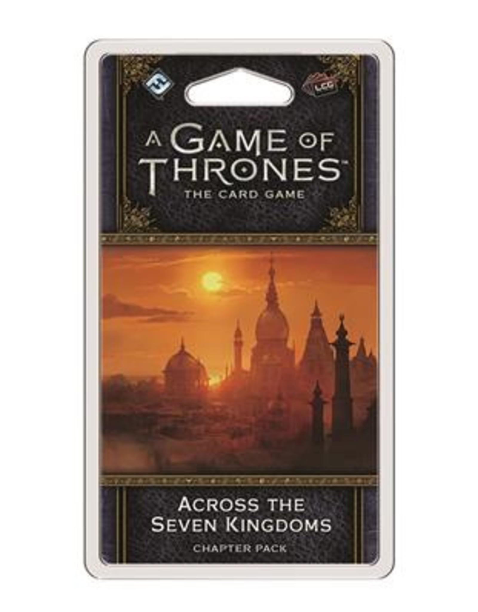 Fantasy Flight Games A Game of Thrones LCG 2nd Ed.: Across the Seven Kingdoms (EN)