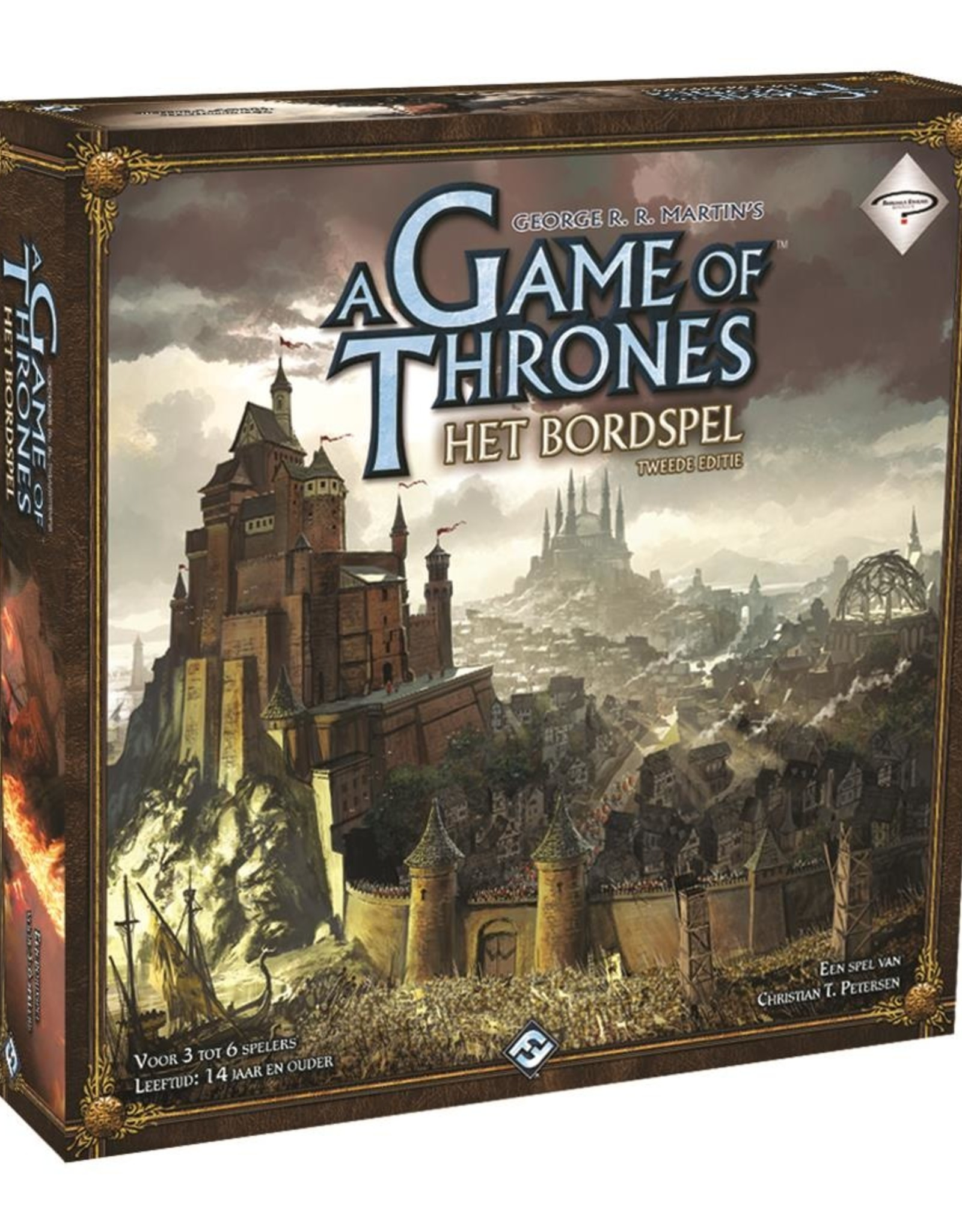 Fantasy Flight Games A Game of Thrones Board Game: 2nd Edition (NL)