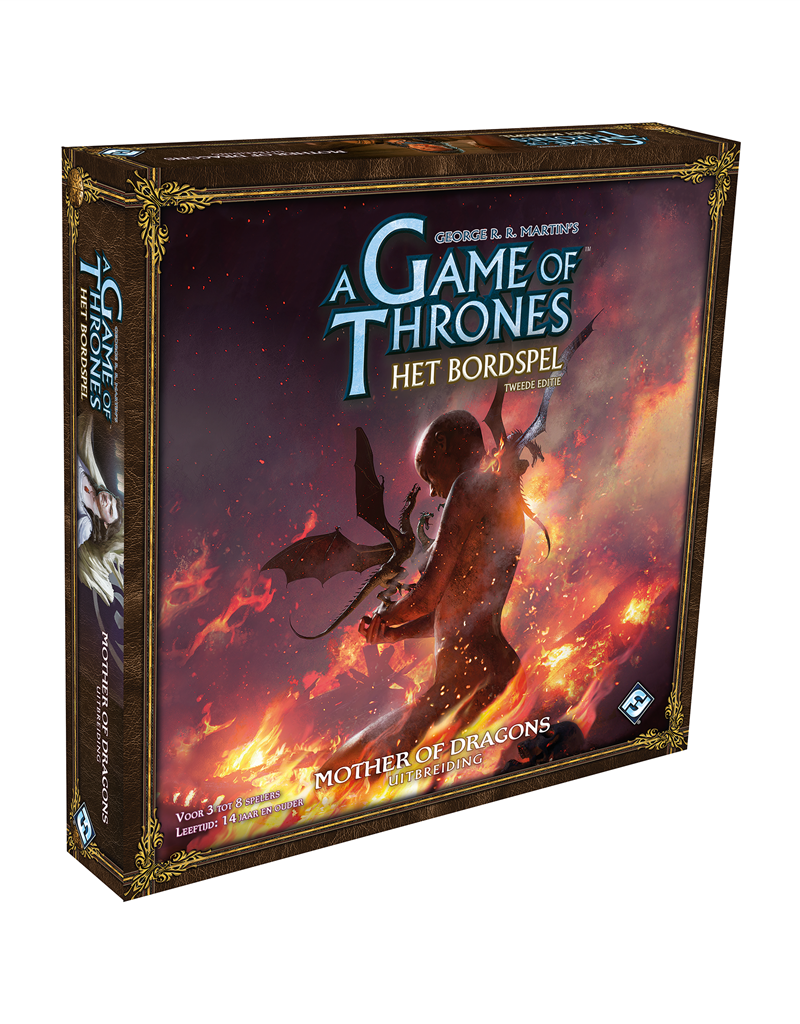 Fantasy Flight Games A Game of Thrones Board Game Mother of Dragons