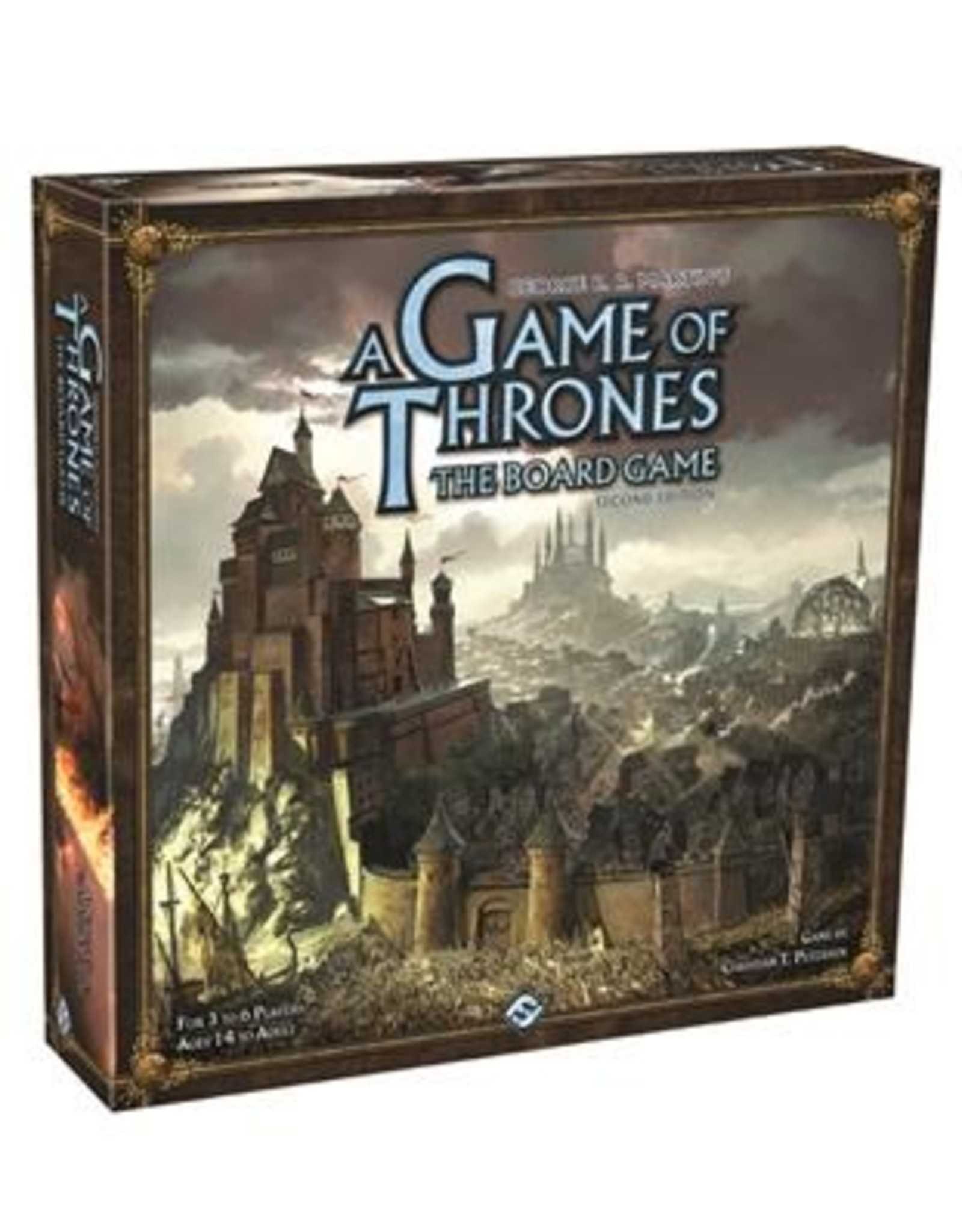 Fantasy Flight Games A Game of Thrones Board Game: 2nd Edition (EN)