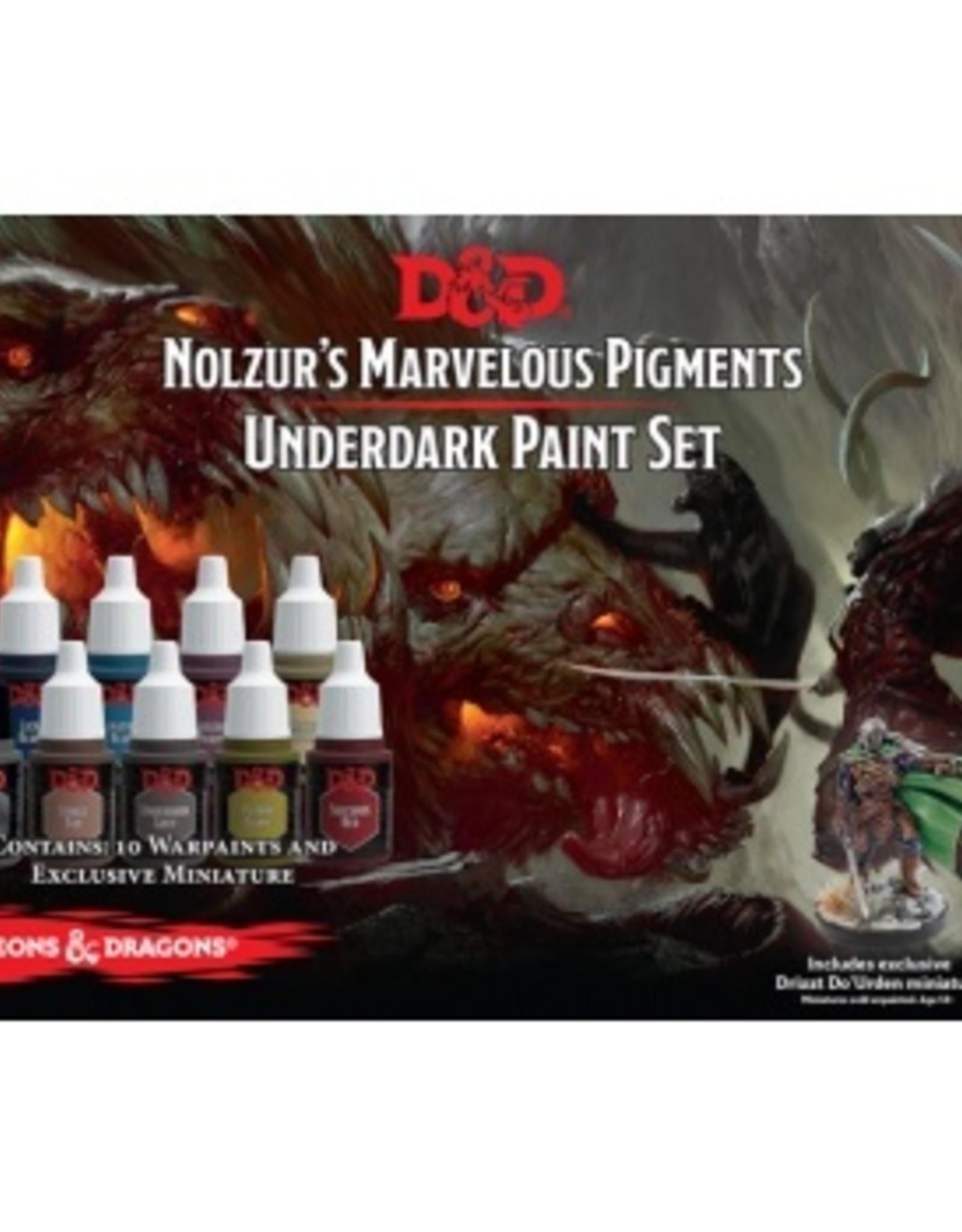 Gale Force Nine D&D Nolzur's Marvelous Pigments Underdark Paint Set