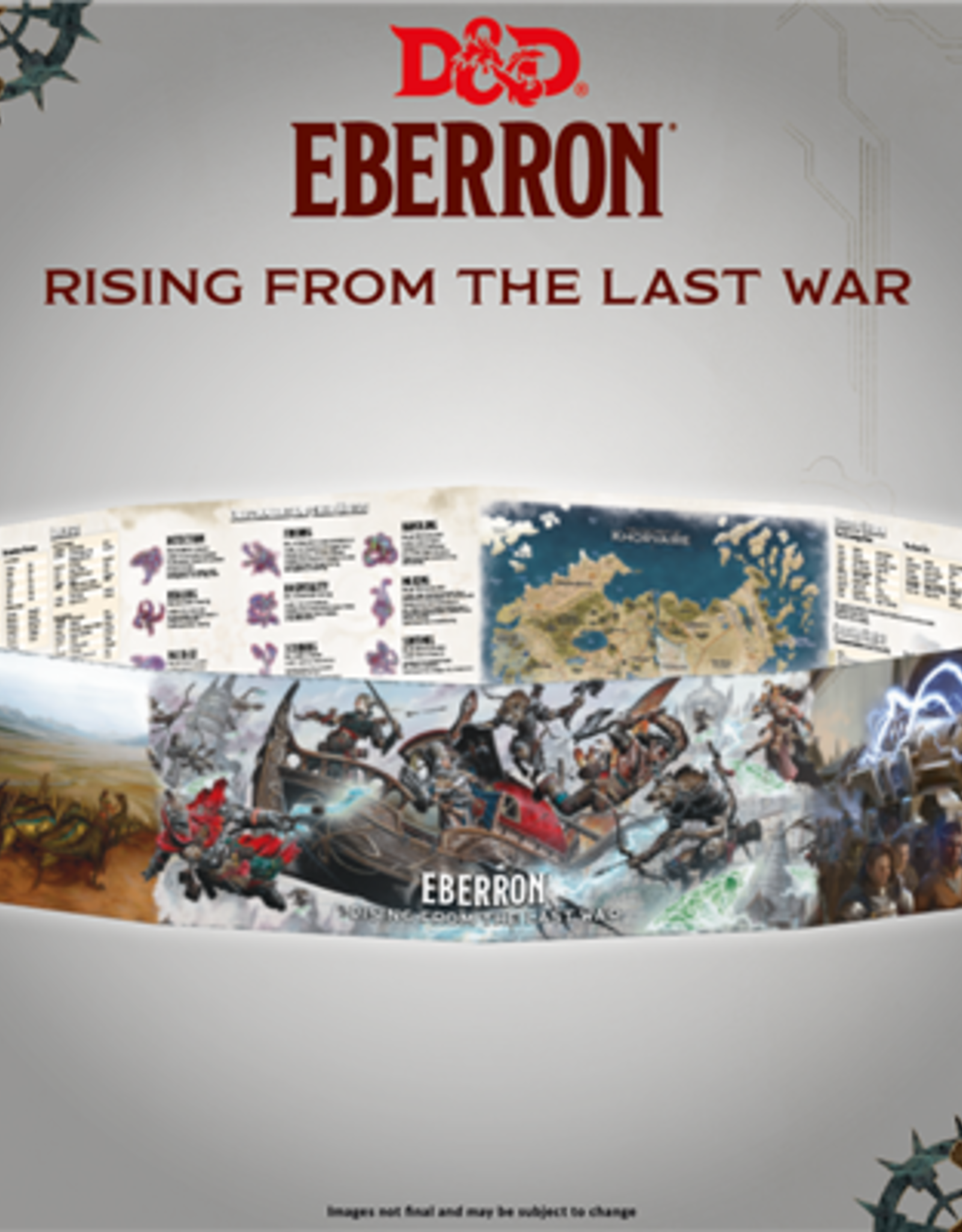 Gale Force Nine D&D 5th ed. DM Screen - Eberron Rising from the Last War