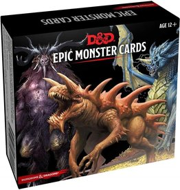 Gale Force Nine D&D 5th ed. Spellbook Cards Epic Monsters