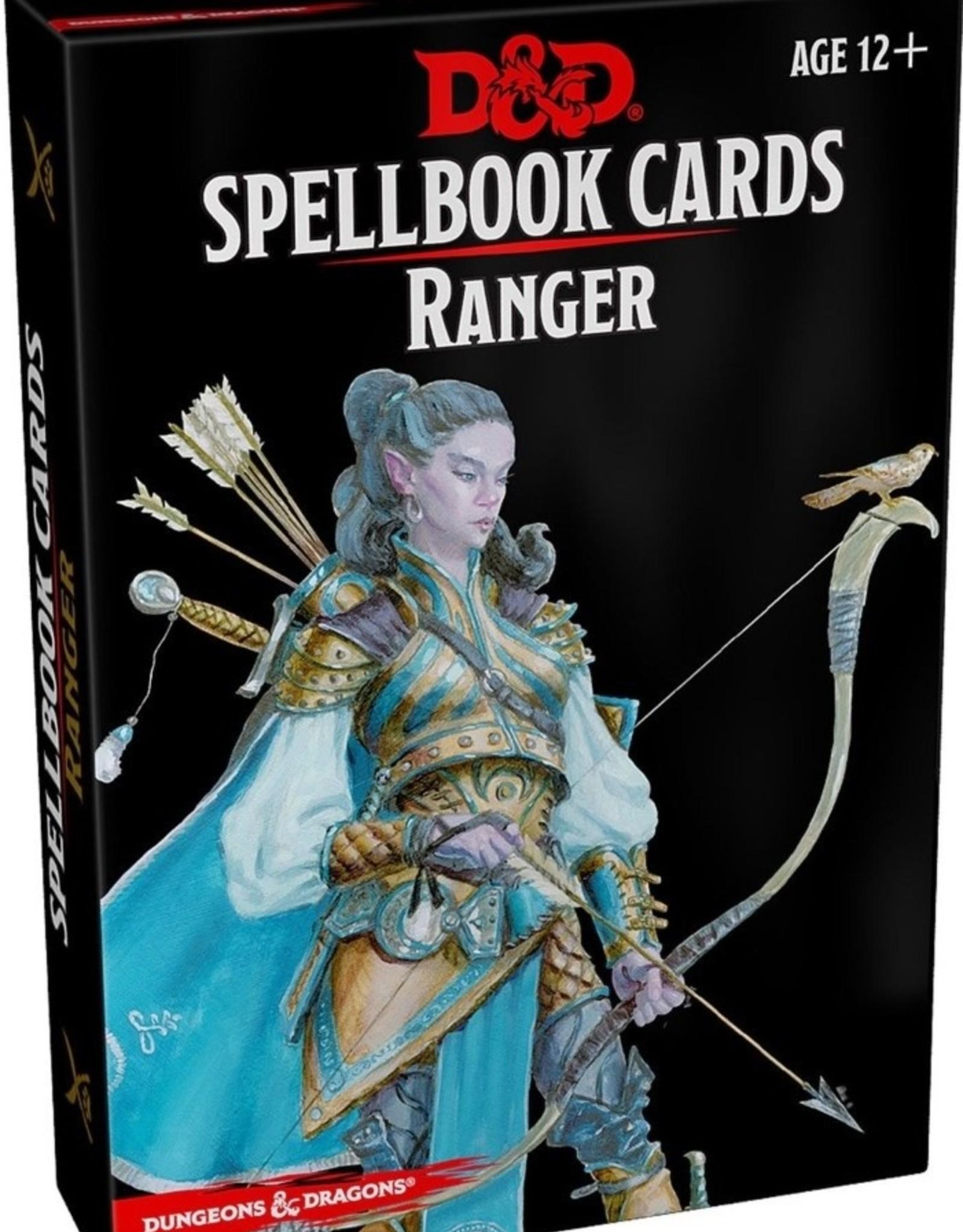 Gale Force Nine D&D 5th ed. Spellbook Cards Ranger