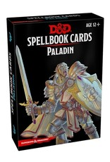 Gale Force Nine D&D 5th ed. Spellbook Cards Paladin
