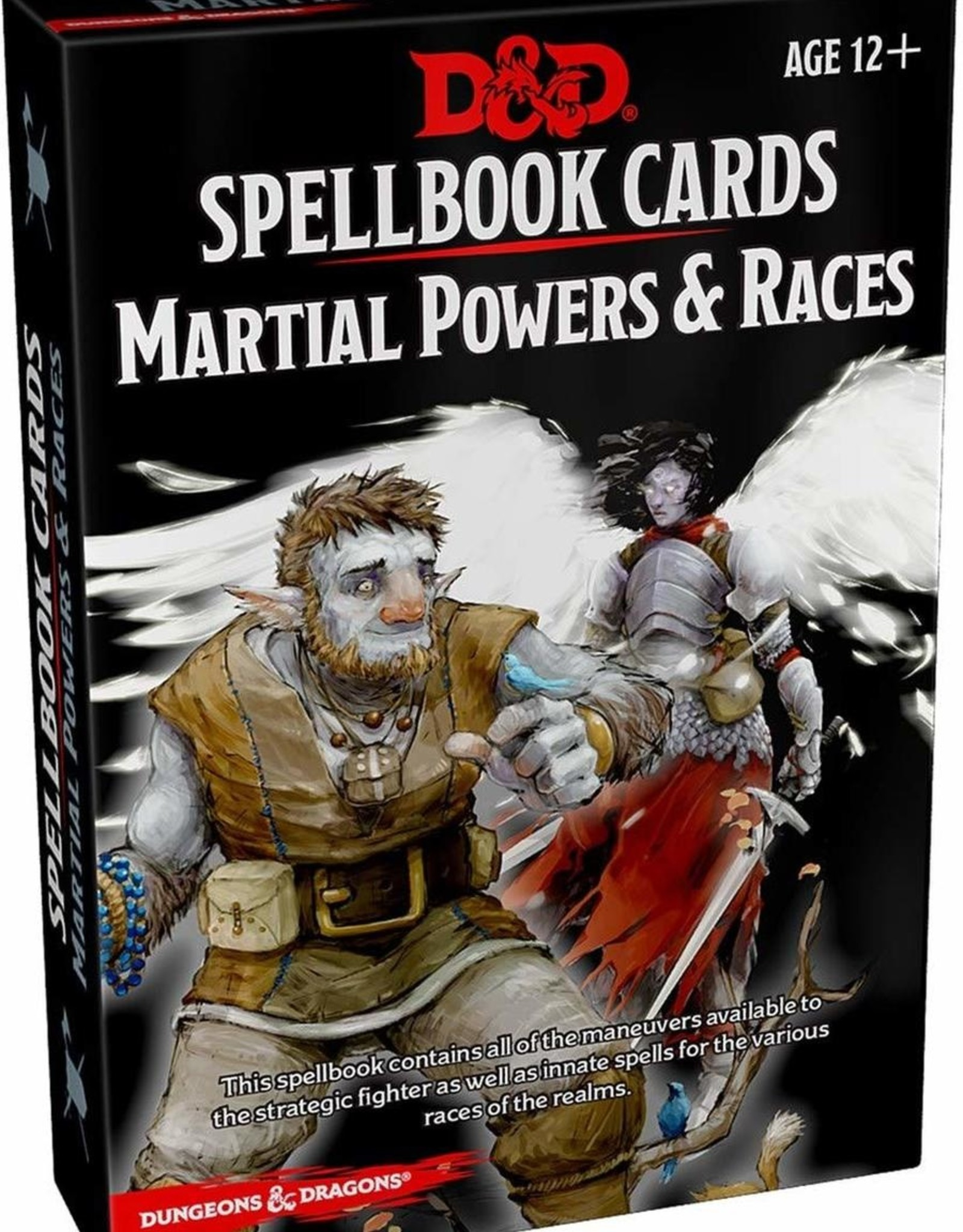 Gale Force Nine D&D 5th ed. Spellbook Cards Martial Powers & Races
