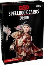 Gale Force Nine D&D 5th ed. Spellbook Cards Druid