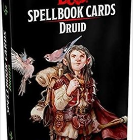 Gale Force Nine D&D 5th ed. Spellbook Cards Druid