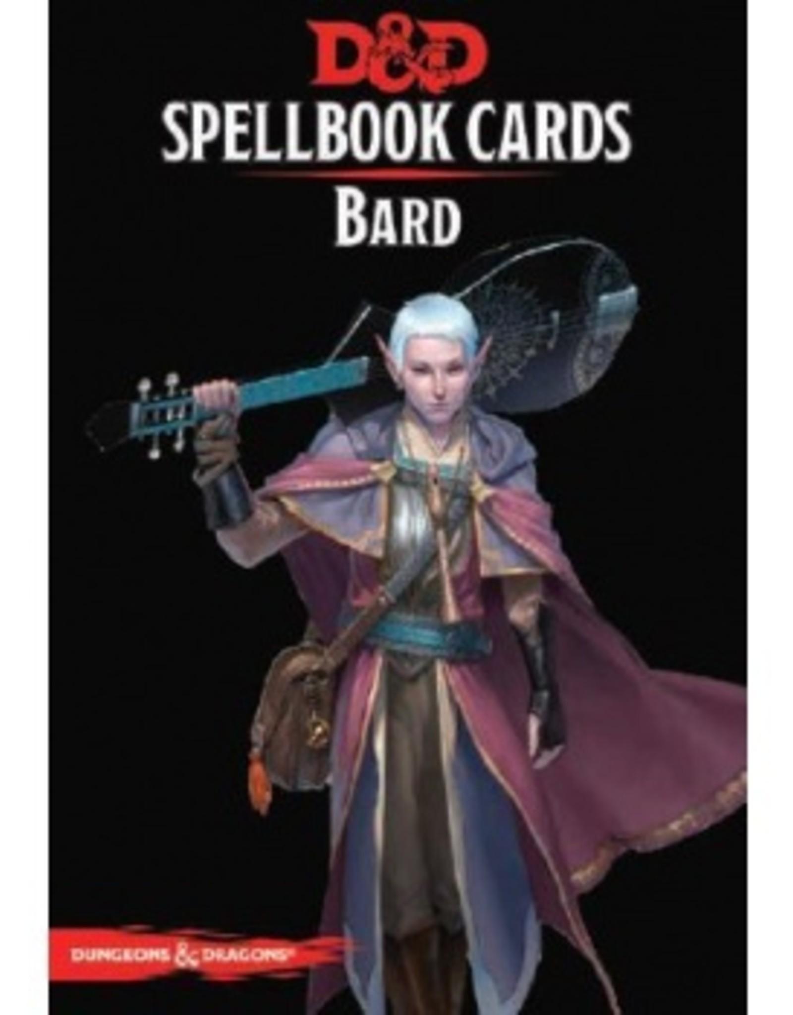 Gale Force Nine D&D 5th ed. Spellbook Cards Bard