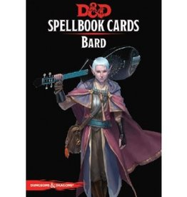 Gale Force Nine D&D 5th ed. Spellbook Cards Bard