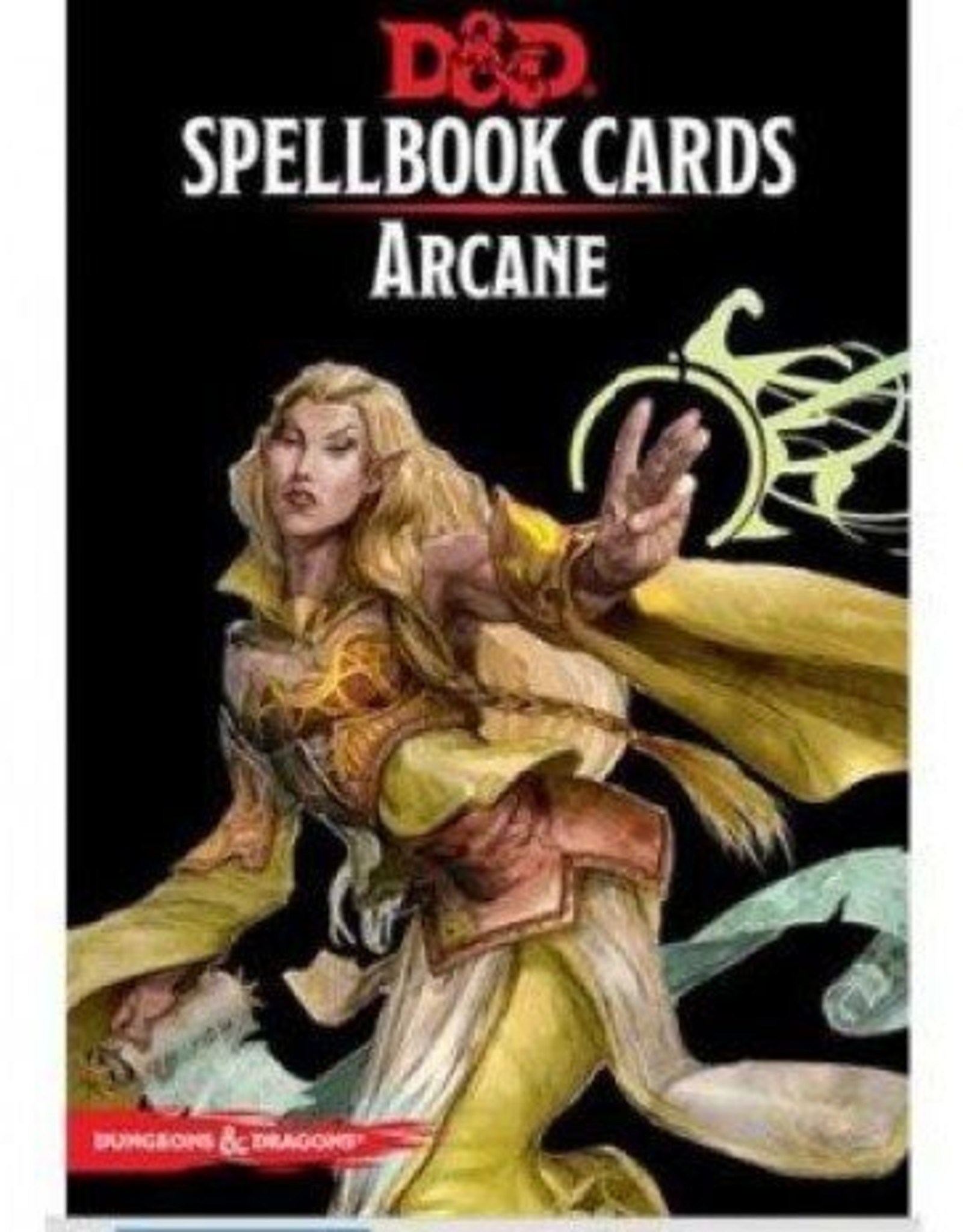Gale Force Nine D&D 5th ed. Spellbook Cards Arcane