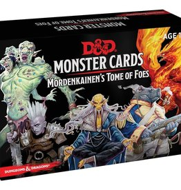 Gale Force Nine D&D 5th ed. Monster Cards Mordenkainen's Tome of Foes