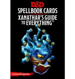 Gale Force Nine D&D 5th ed. Spellbook Cards Xanathars Guide