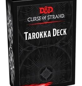 Gale Force Nine D&D 5th ed. Curse of Strahd Tarokka Deck