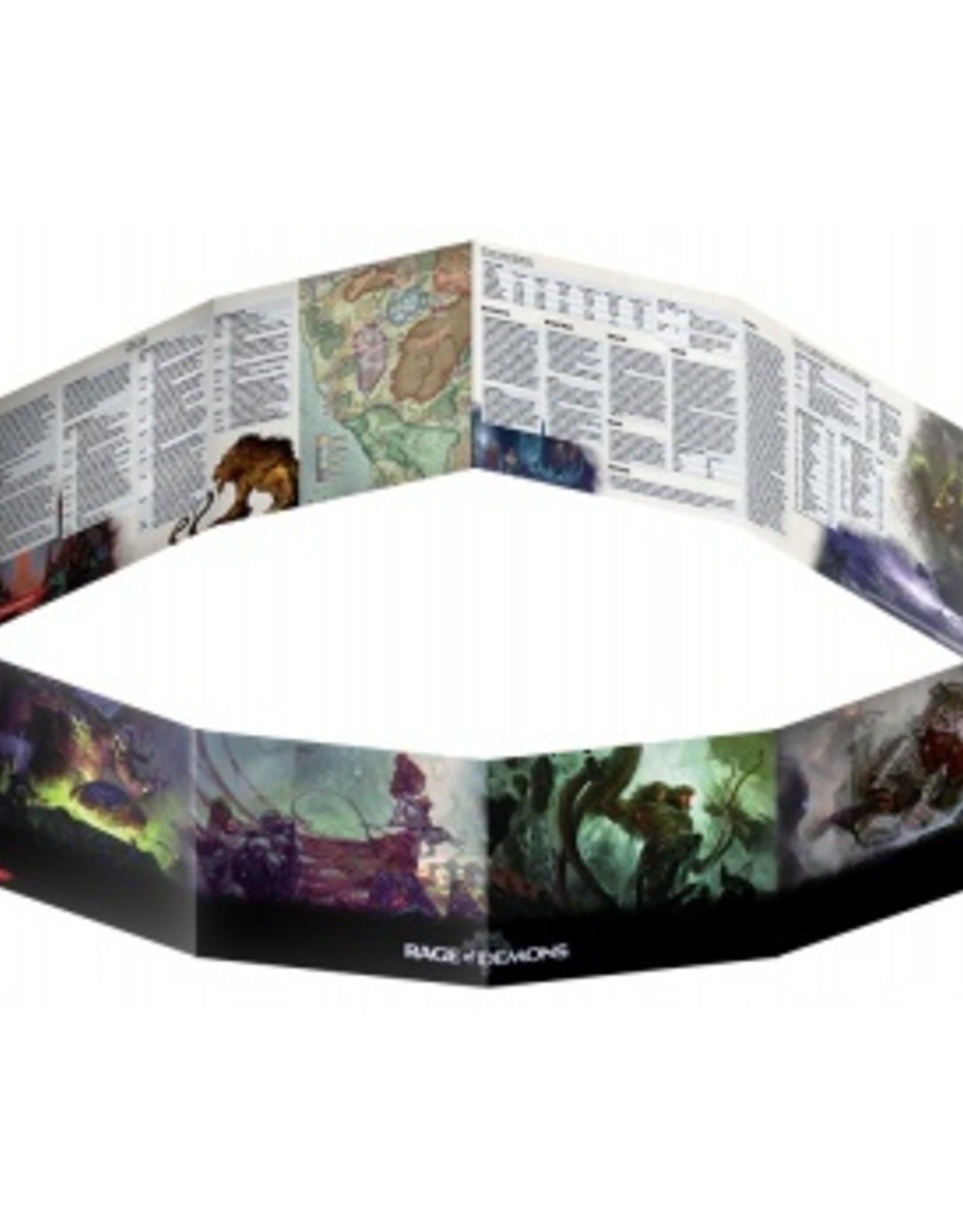 Gale Force Nine D&D 5th ed. DM Screen Rage of Demons
