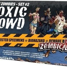 Cool Mini or Not Zombicide Expansion - Set 2 Toxic Crowd