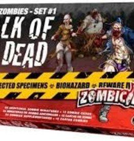 Cool Mini or Not Zombicide: Set 1 Walk of the Dead (EN)