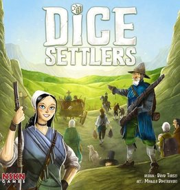Board & Dice Dice Settlers