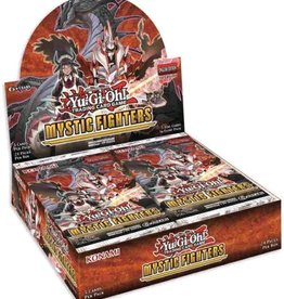 Konami Yu-Gi-Oh Mystic Fighters Booster Box