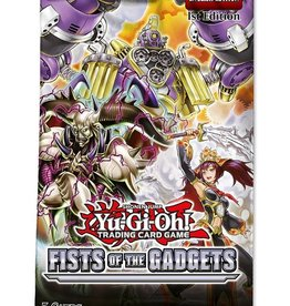 Konami Yu-Gi-Oh Fists of the Gadgets Booster