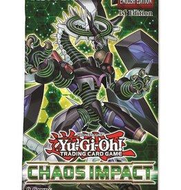 Konami Yu-Gi-Oh Chaos Impact Booster