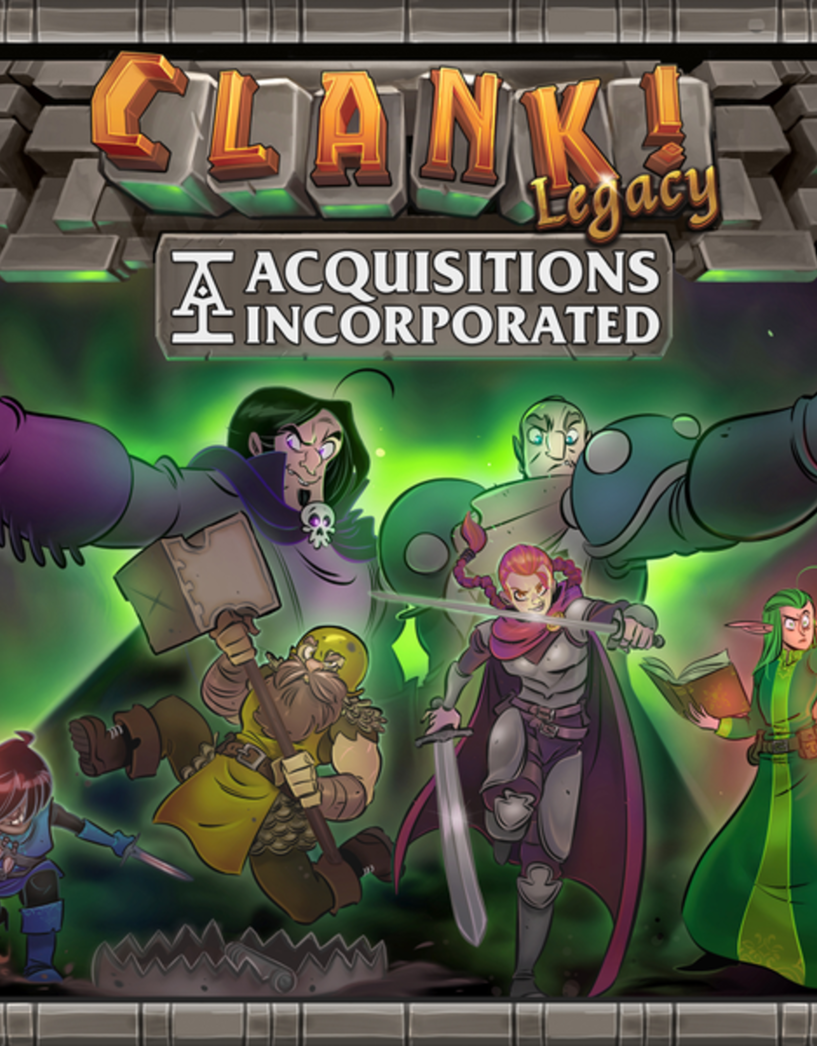 Renegade Games Clank! Legacy Acquisitions Incorporated (EN)