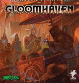 Sinister Fish Games Gloomhaven Removable Reusable Sticker Set