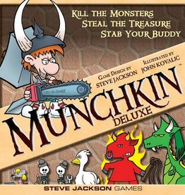 Steve Jackson Games Munchkin: Deluxe (EN)