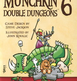Steve Jackson Games Munchkin 6 Double Dungeons