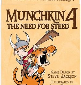 Steve Jackson Games Munchkin 4 Need for Steed