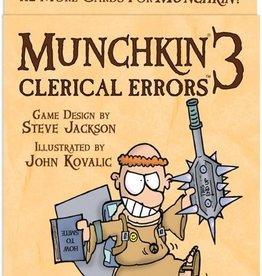 Steve Jackson Games Munchkin: 3 Clerical Errors (EN)