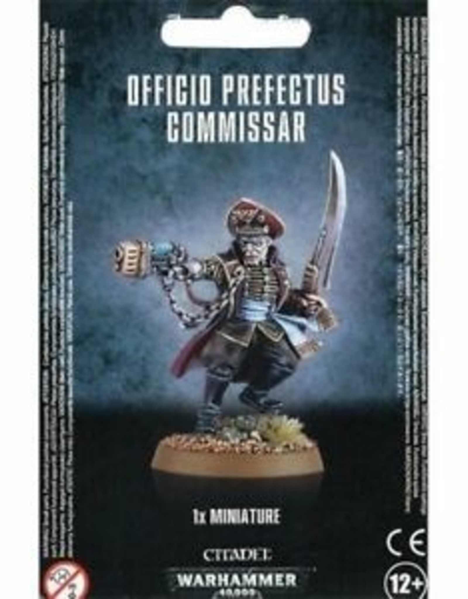 Games Workshop Astra Militarum Officio Perfectus Commisar