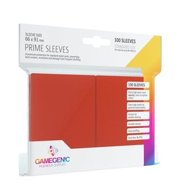 Gamegenic Gamegenic Prime Sleeves Red (100)