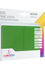 Gamegenic Gamegenic Prime Sleeves Green (100)