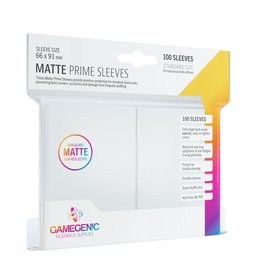 Gamegenic Gamegenic Matte Prime Sleeves White (100)