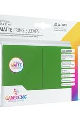 Gamegenic Gamegenic Matte Prime Sleeves Green (100)