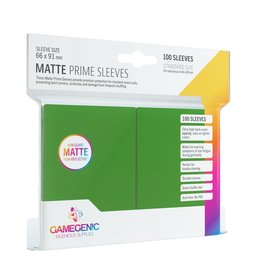 Gamegenic Gamegenic Matte Prime Sleeves Green (100)