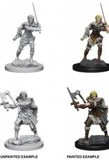 Wizkids D&D Nolzur's Marvelous Miniatures Human Barbarian Female