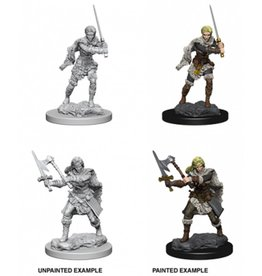 Wizkids D&D Nolzur's Marvelous Miniatures Human Barbarian Female
