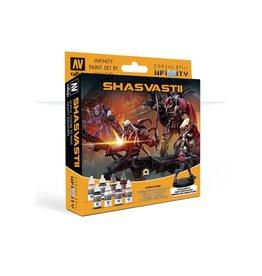 Vallejo Model Color Set: Infinity Shasvastii Exclusive Miniature