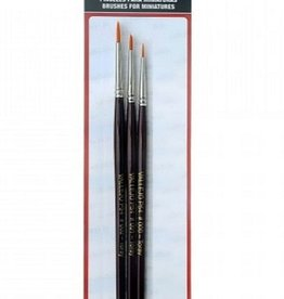 Vallejo Vallejo Brush Set - Synthetic Toray 0, 1, 2